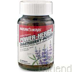 Chaste Berry - Power 60 caps NATURE'S HERBS