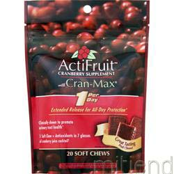 ActiFruit with Cran-Max 20 unit ENZYMATIC THERAPY