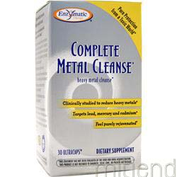 Complete Metal Cleanse 30 caps ENZYMATIC THERAPY