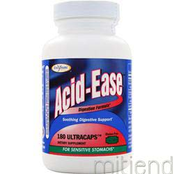 Acid-Ease 180 caps ENZYMATIC THERAPY