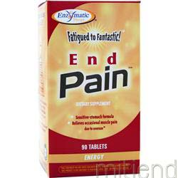 End Pain 90 tabs ENZYMATIC THERAPY
