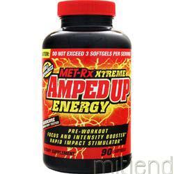 Xtreme AmpedUp Energy 90 sgels MET-RX