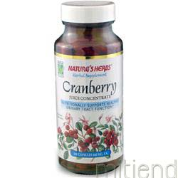 Cranberry Juice Concentrate 100 caps NATURE'S HERBS
