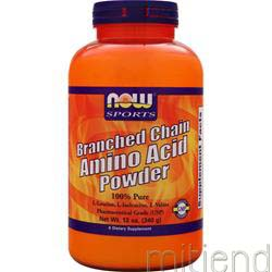 Branched Chain Amino Acid Powder 12 oz NOW