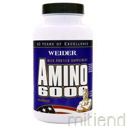 Amino 6000 100 caps WEIDER