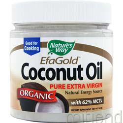 Pure Extra Virgin Coconut Oil Organic 16 oz NATURE'S WAY