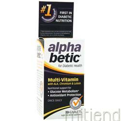 Alpha Betic Multi-Vitamin 30 cplts NATURE'S WAY