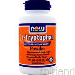 L-Tryptophan Powder 2 oz NOW