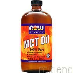 MCT Oil 100% Pure 32 fl oz NOW