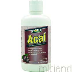 Acai 32 fl oz NOW