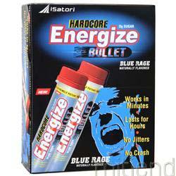 Hardcore Energize Bullet Blue Rage 12 vials ISATORI