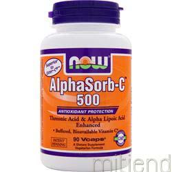 AlphaSorb-C 500 90 caps NOW