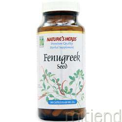 Fenugreek Seed 100 caps NATURE'S HERBS