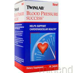 Blood Pressure Success 60 tabs TWINLAB