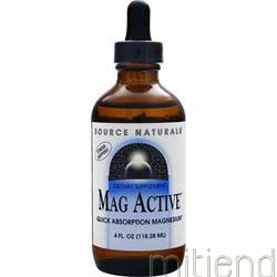 Mag Active 4 fl oz SOURCE NATURALS