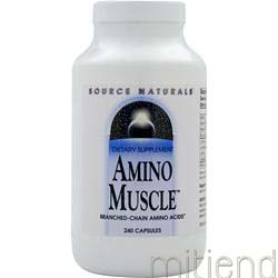 Amino Muscle 240 caps SOURCE NATURALS