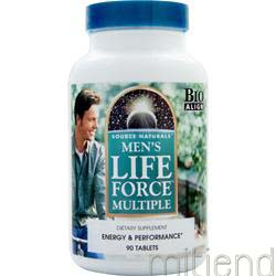 Men's Life Force Multiple 90 tabs SOURCE NATURALS