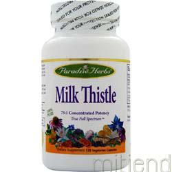 Milk Thistle 120 caps PARADISE HERBS