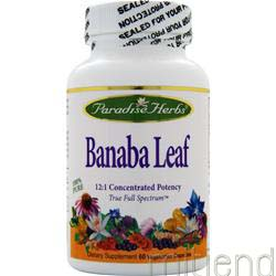 Banaba Leaf 60 vcaps PARADISE HERBS