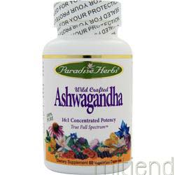 Ashwagandha 60 caps PARADISE HERBS