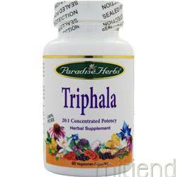 Triphala 60 caps PARADISE HERBS