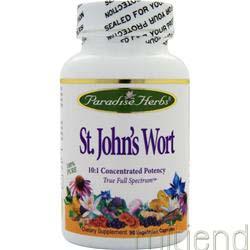 St  John's Wort 90 caps PARADISE HERBS
