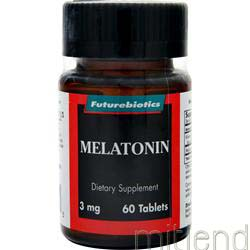 Melatonin 3mg 60 tabs FUTUREBIOTICS