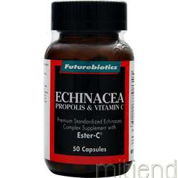 Echinacea Propolis and Vitamin C 50 caps FUTUREBIOTICS