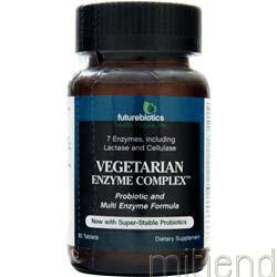 Vegetarian Enzyme Complex 90 tabs FUTUREBIOTICS