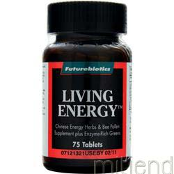Living Energy 75 tabs FUTUREBIOTICS