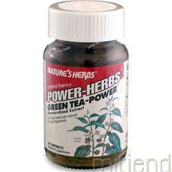 Green Tea - Power 60 caps NATURE'S HERBS