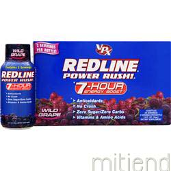 Redline - Power Rush Wild Grape 12 bttls VPX SPORTS