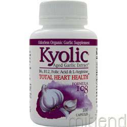 Aged Garlic Extract Formula #108 100 caps KYOLIC