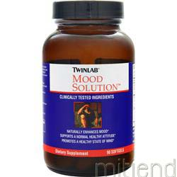Mood Solution 90 sgels TWINLAB