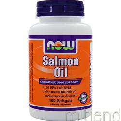 Salmon Oil 100 sgels NOW