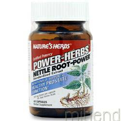 Nettle Root - Power 60 caps NATURE'S HERBS