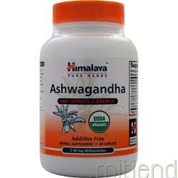 Ashwagandha 60 cplts HIMALAYA