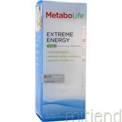 Metabolife Extreme Energy 90 tabs METABOLIFE