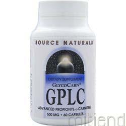 GPLC 500mg 60 caps SOURCE NATURALS