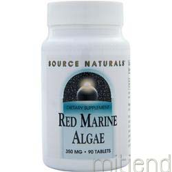 Red Marine Algae 350mg 90 tabs SOURCE NATURALS