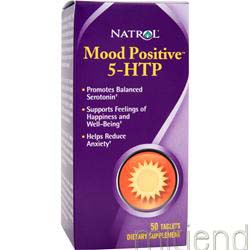 Mood Positive 5-HTP 50 tabs NATROL