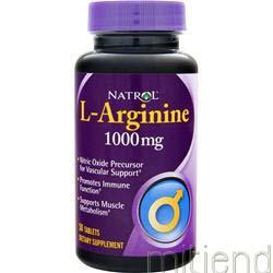 L-Arginine 1000mg 50 tabs NATROL