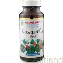 Sarsaparilla 100 caps NATURE'S HERBS