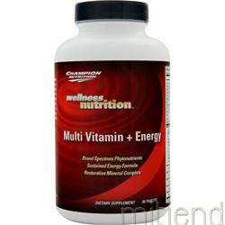 Multi Vitamin plus Energy 90 tabs CHAMPION NUTRITION