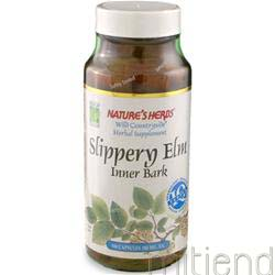 Slippery Elm Bark 100 caps NATURE'S HERBS
