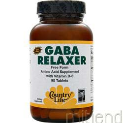 Gaba Relaxer 90 tabs COUNTRY LIFE