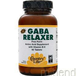 Gaba Relaxer 90 tabs COUNTRY LIFE