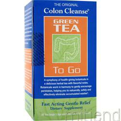 Colon Cleanse to Go Tea Green Tea 30 pckts Green Tea 30 pckts HEALTH PLUS