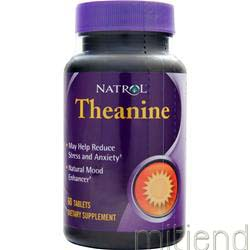 Theanine 60 tabs NATROL