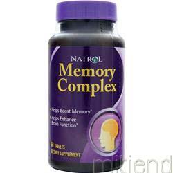 Memory Complex 60 tabs NATROL